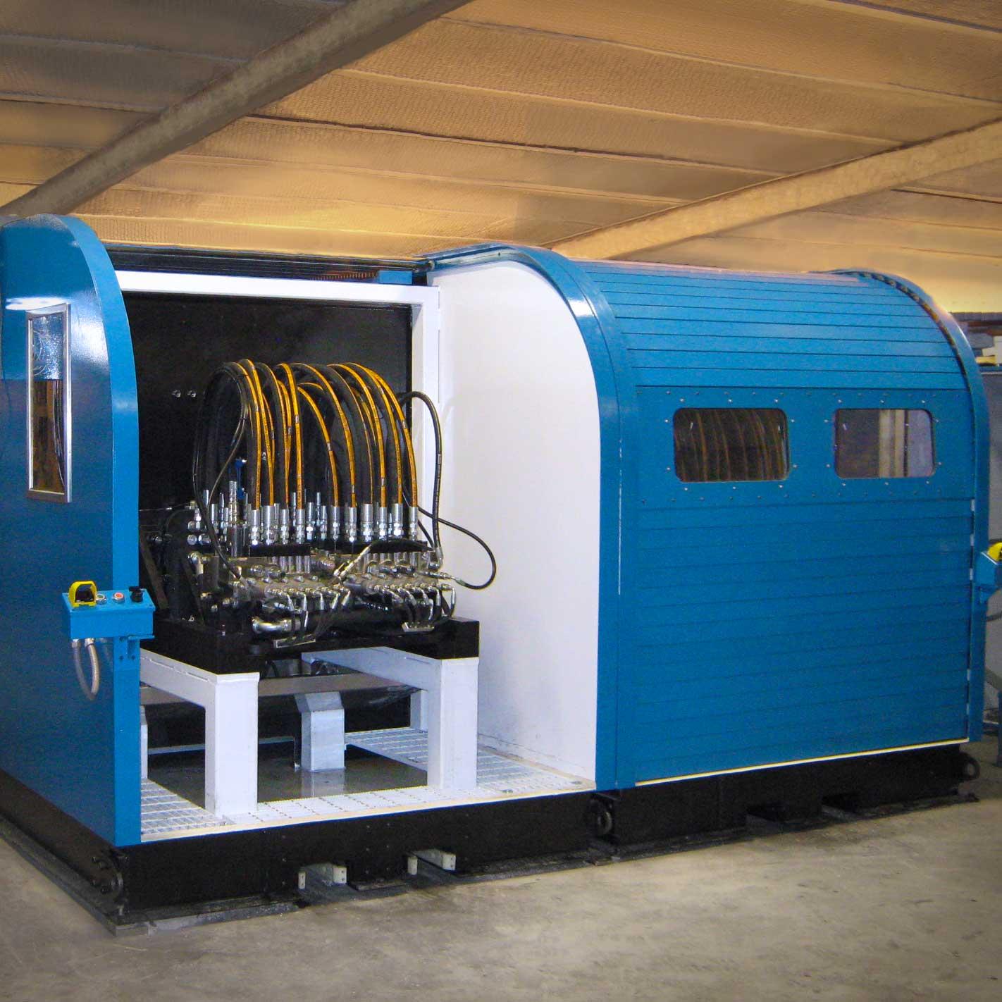 Hydraulic Valve Test Stand