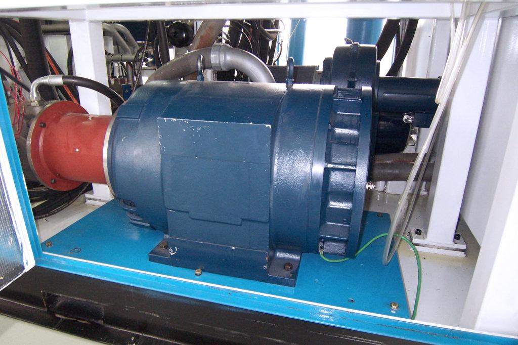 Motor inside Hydraulic Test Stand