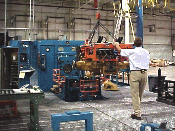 Hydraulic Controlled Transaxel Test Stand