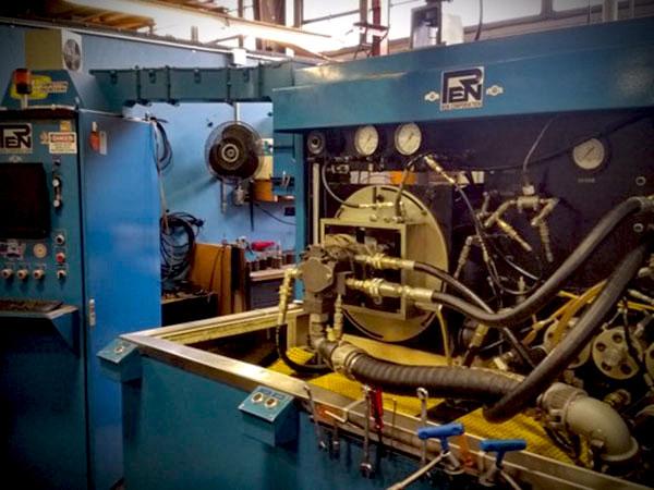 Hydraulic Pump Motor Test Stand